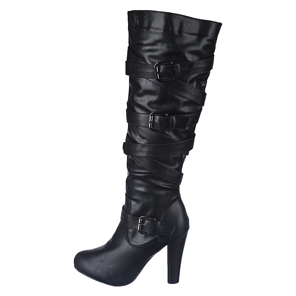 Image of Women's Knee-High Leather Boot Apollo-1