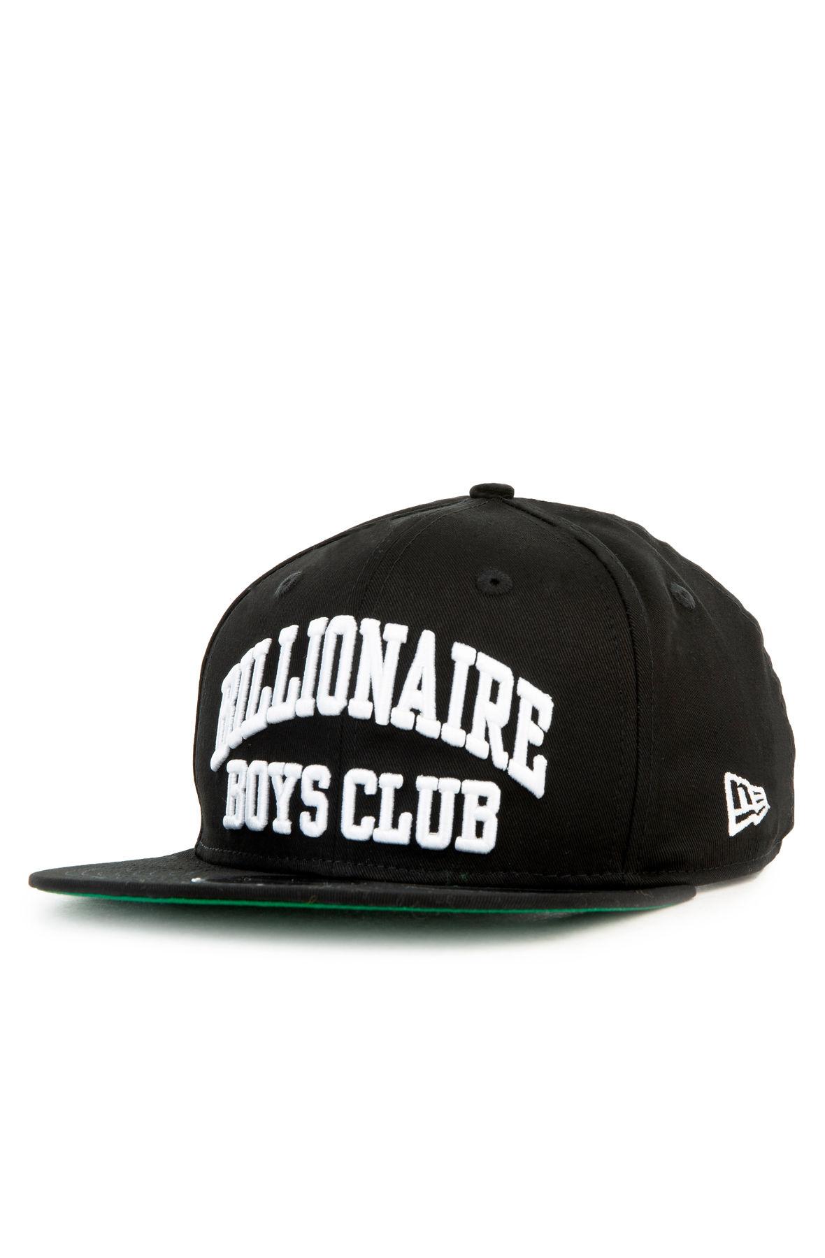 The BB Bent Snapback Hat in Black