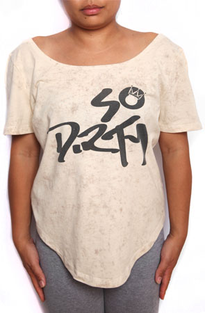 so dirty ''u-cut'' tee