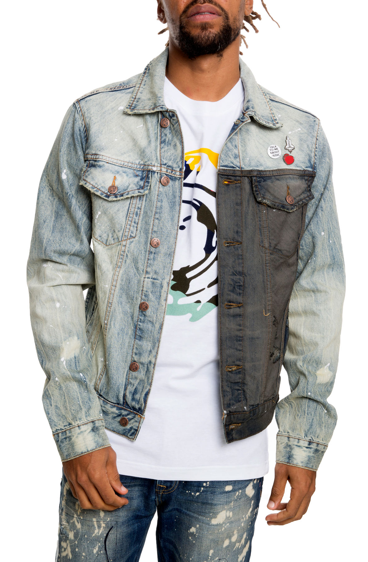 Image of The BB Clubs Jacket in Moon Wind