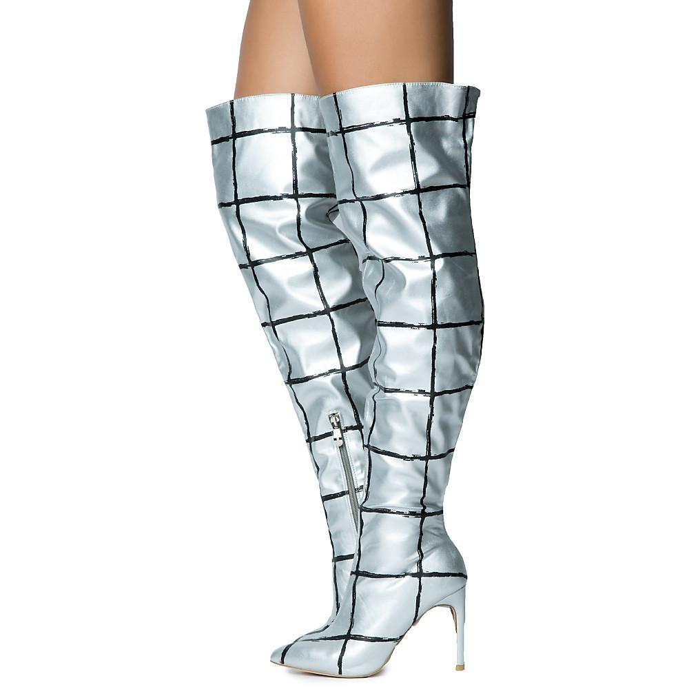 Womens Mini-81 High Heel Boot