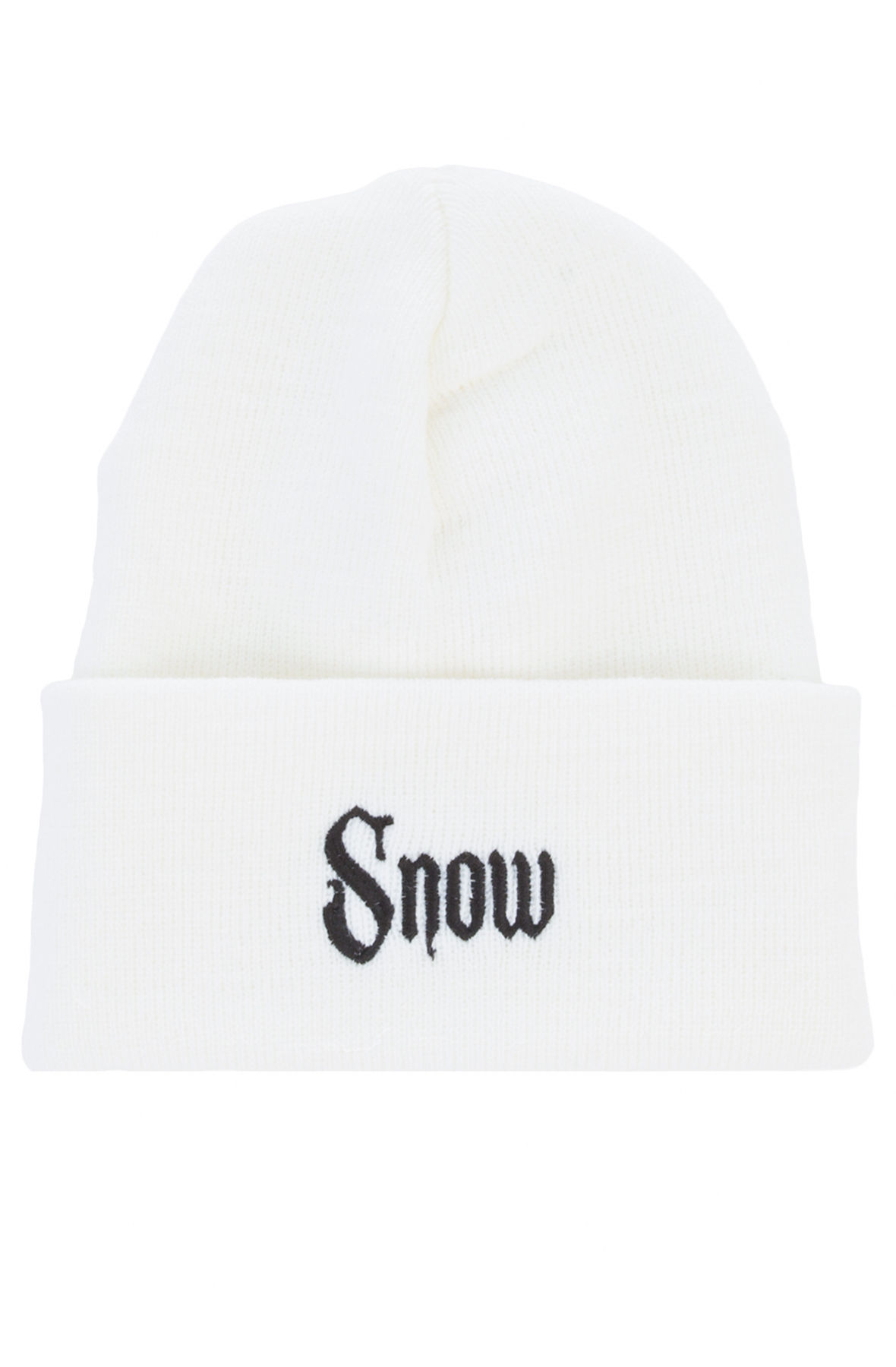 Image of The Snow Girl Beanie in White