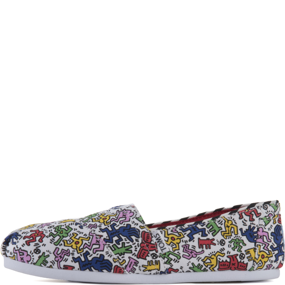 Image of Toms for Women: Classics Keith Haring Pop Flats