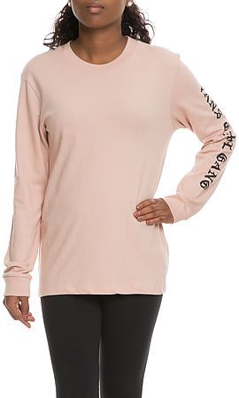 Image of The Vans Clans Girl Gang Long Sleeve in Mahogany Rose