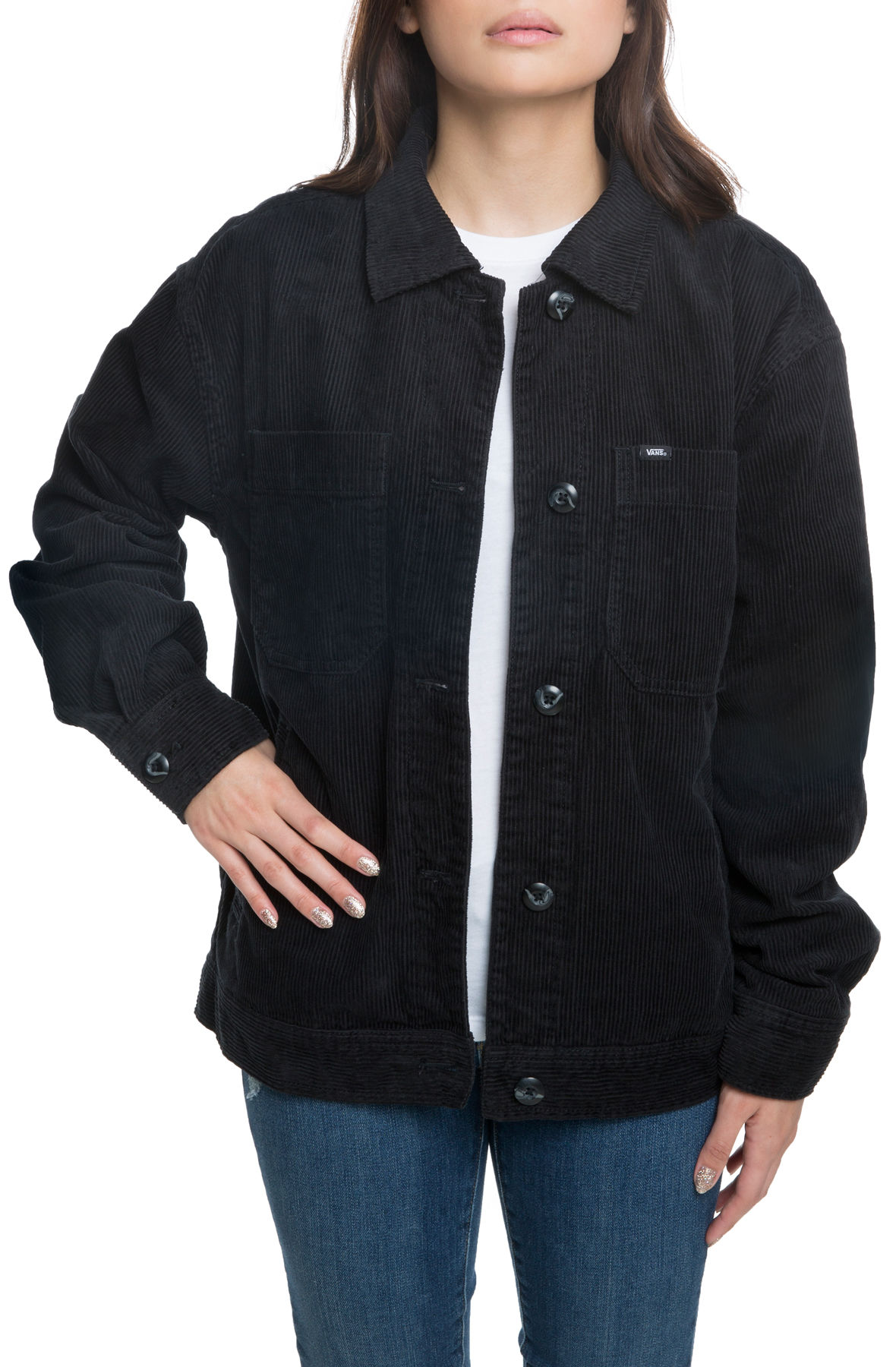 The Summit Jacket in Black