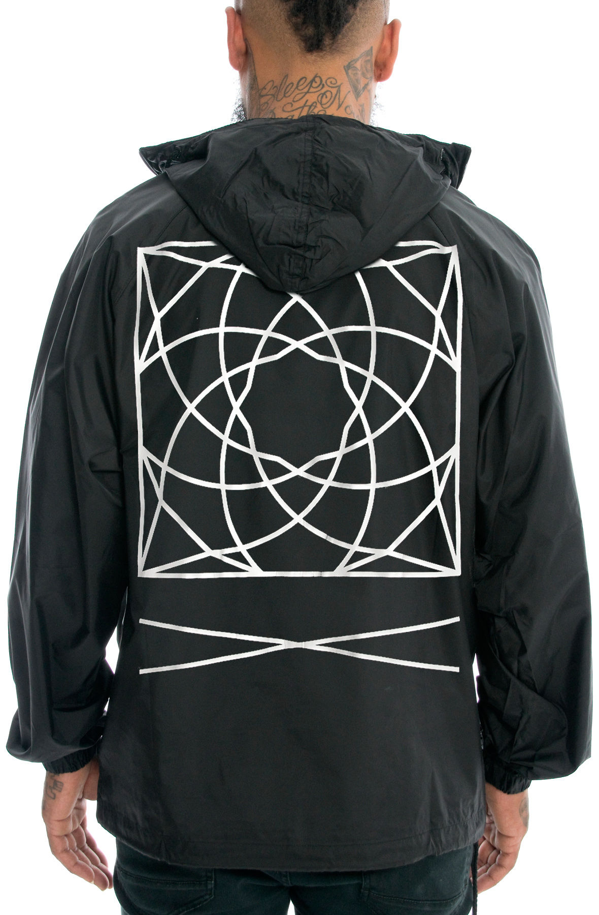 Image of The Geo Pullover Jacket
