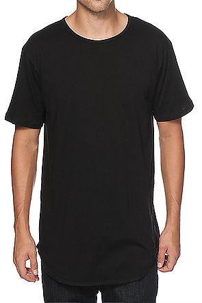 Essential Slit T-shirts Black