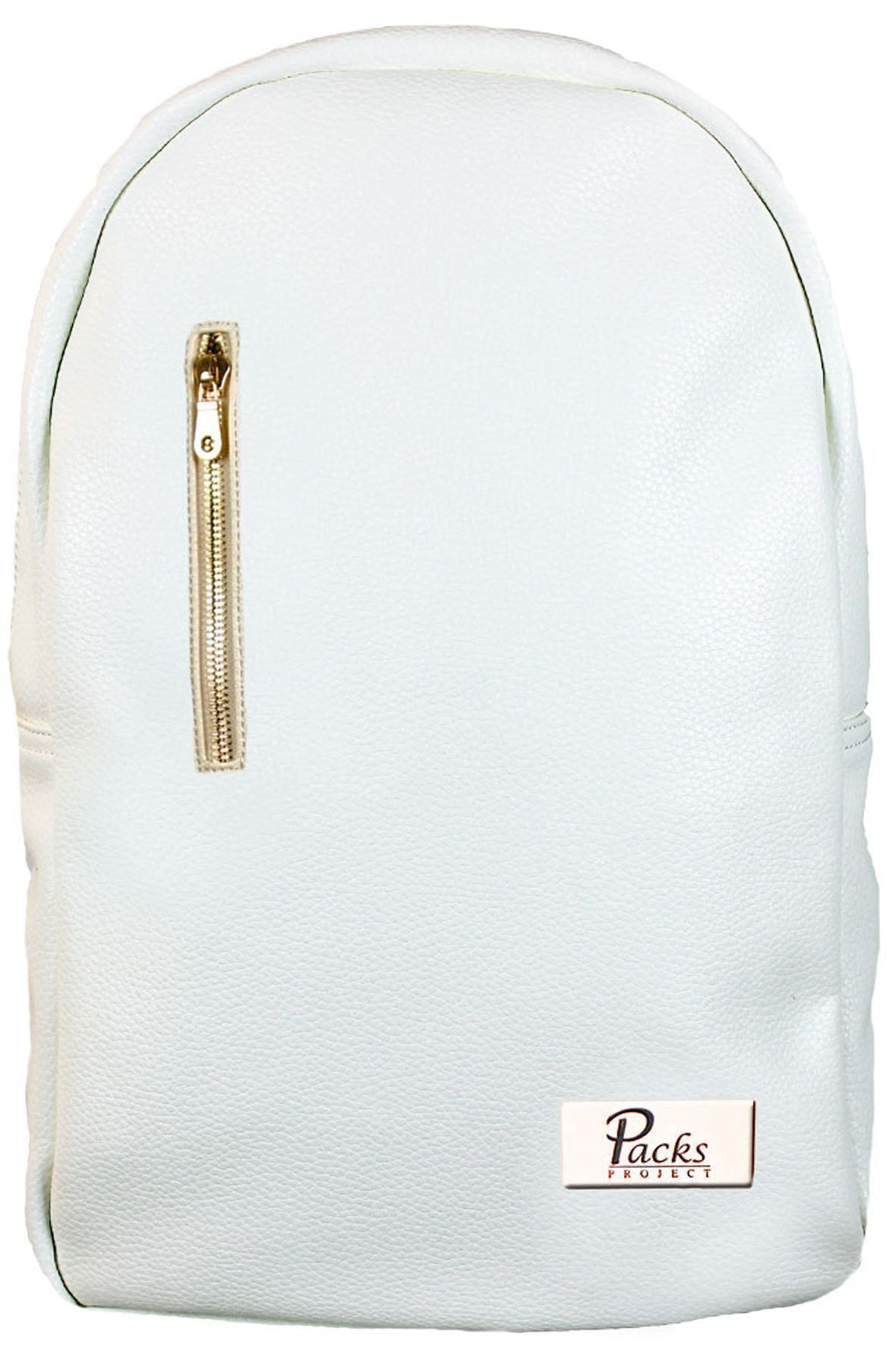 Image of Owen Backpack (White & Gold)