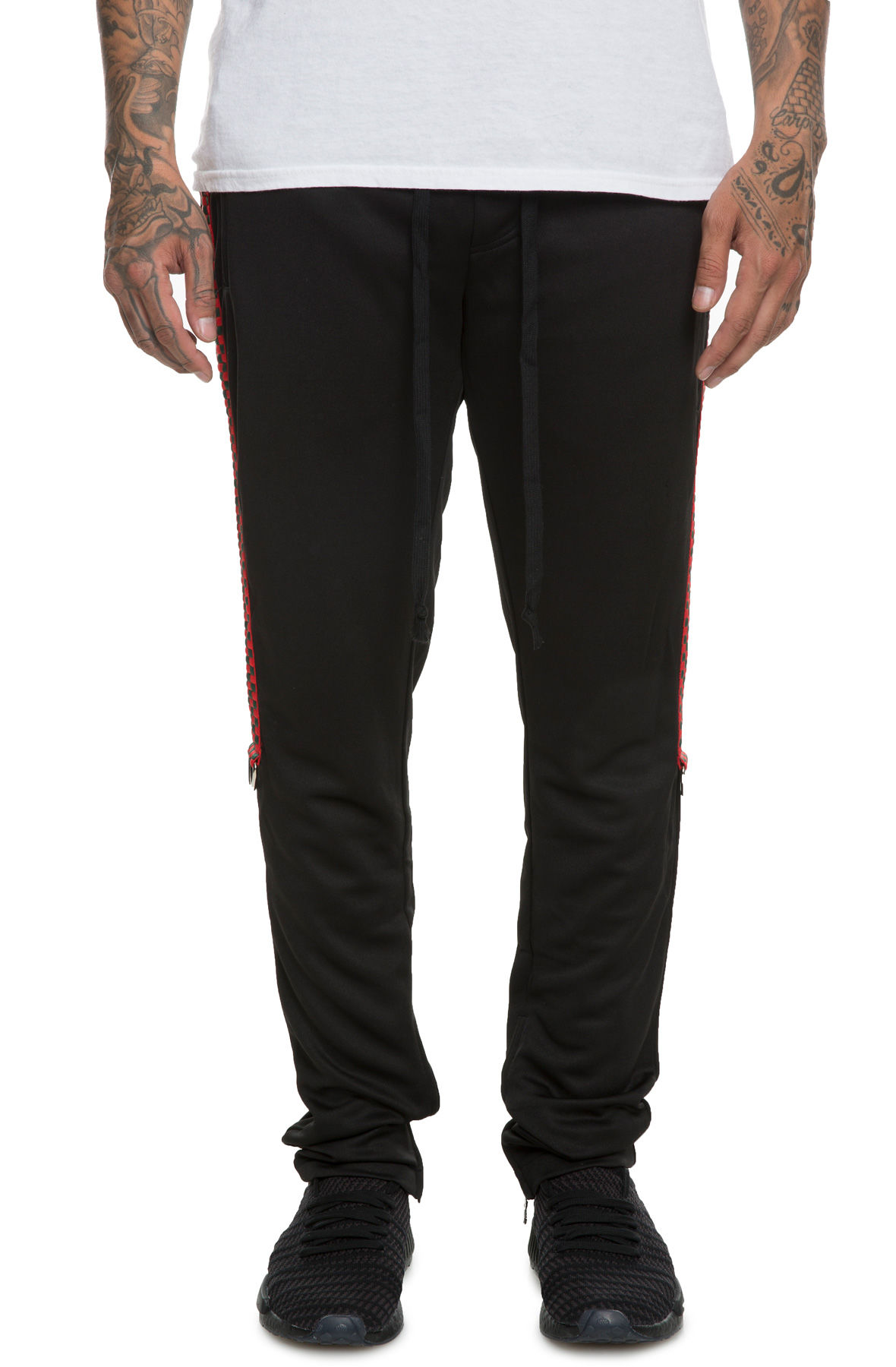 Image of The Geechi Weave Track Pants in Black