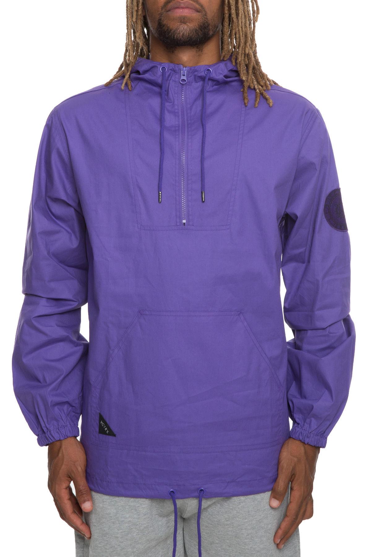 Image of 10 Deep XXX USA Navigator Cotton Windbreaker in Purple
