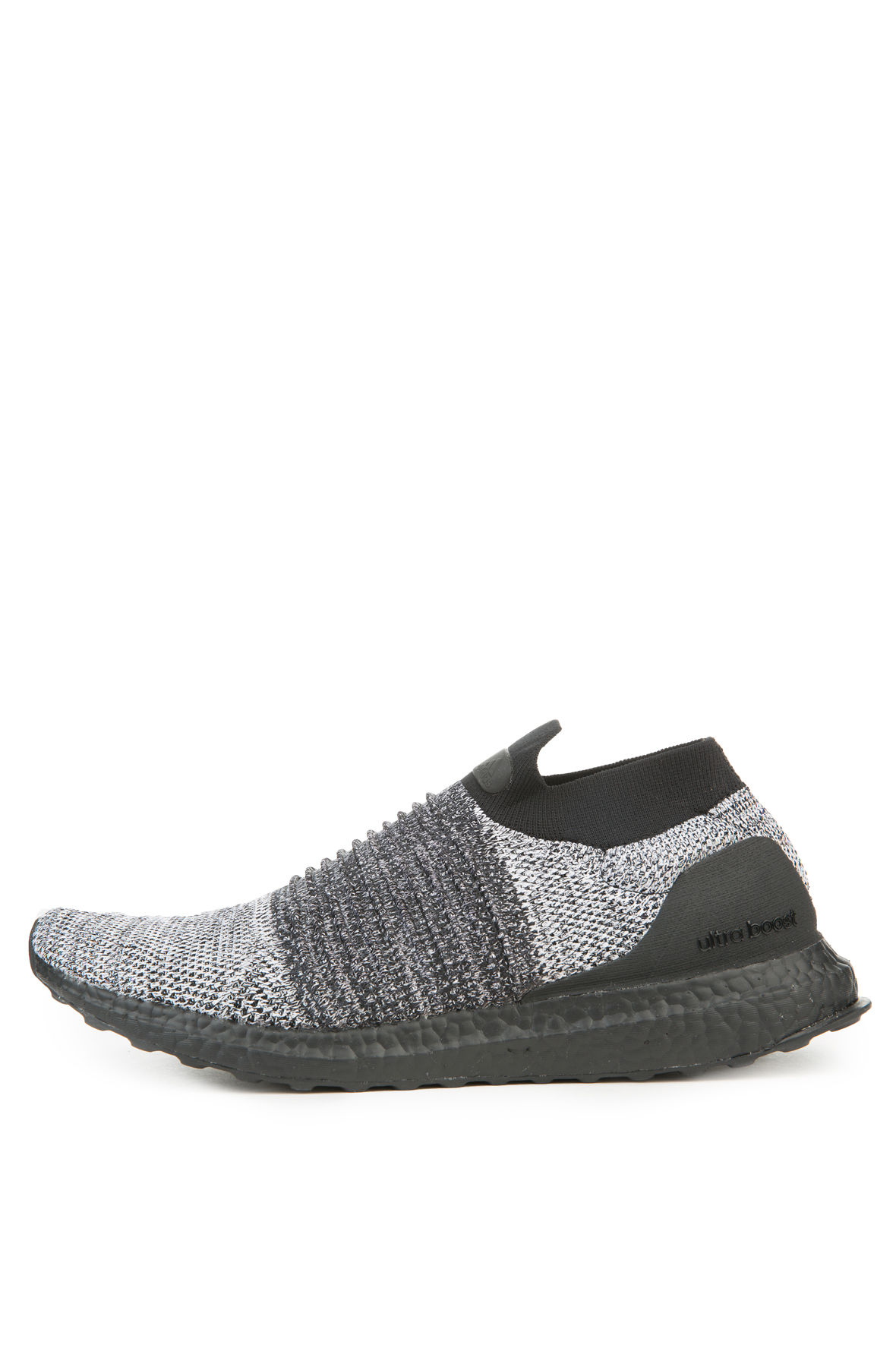 Image of The Men's Ultraboost Laceless LTD in Core Black and White