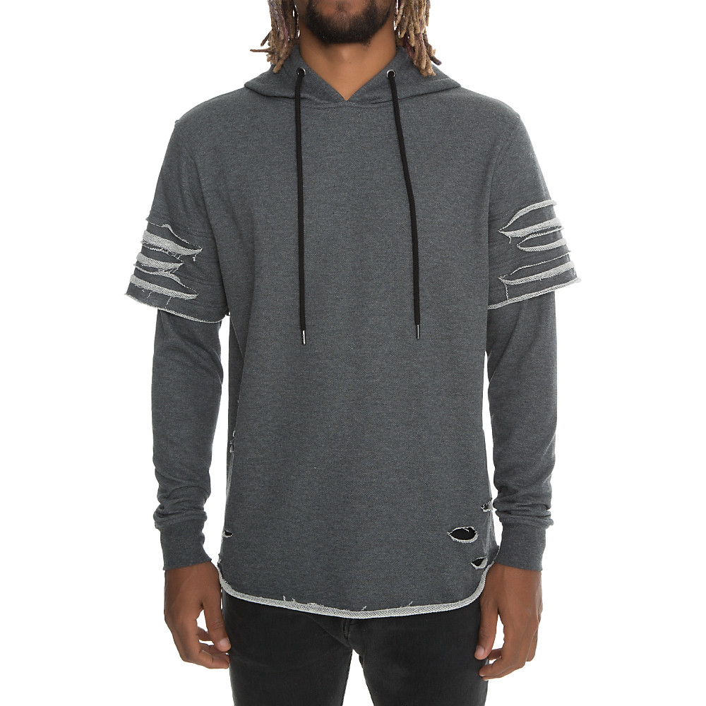 Image of Men's Ripped Hoodie