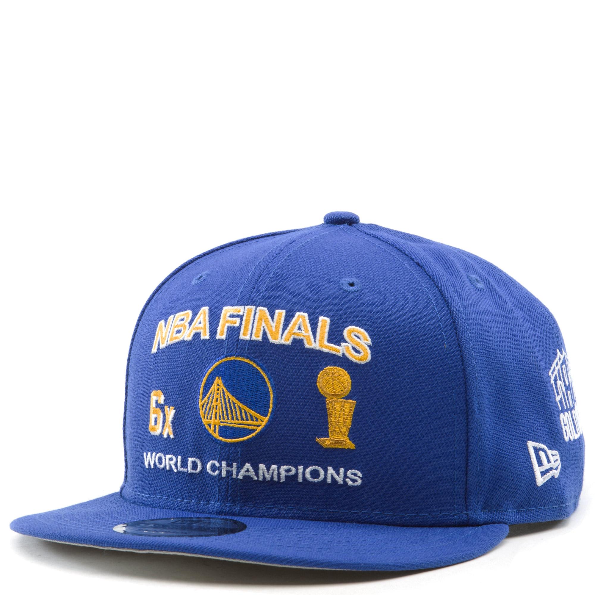 Golden State Warriors NBA Finals 9Fifty Snapback Hat