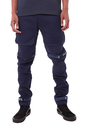 Image of Strapped Up Slim Utility Pant Navy