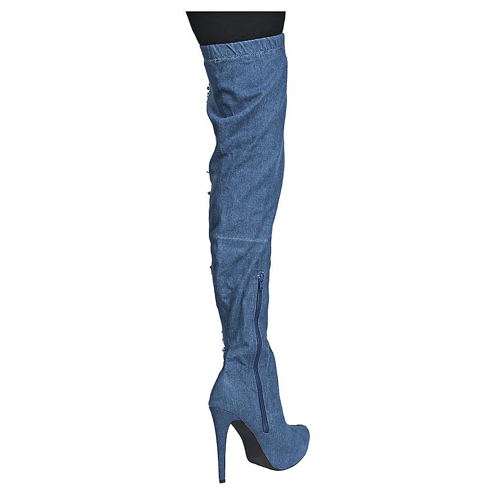 Image of Women's Thigh-High High Heel Boot Malina