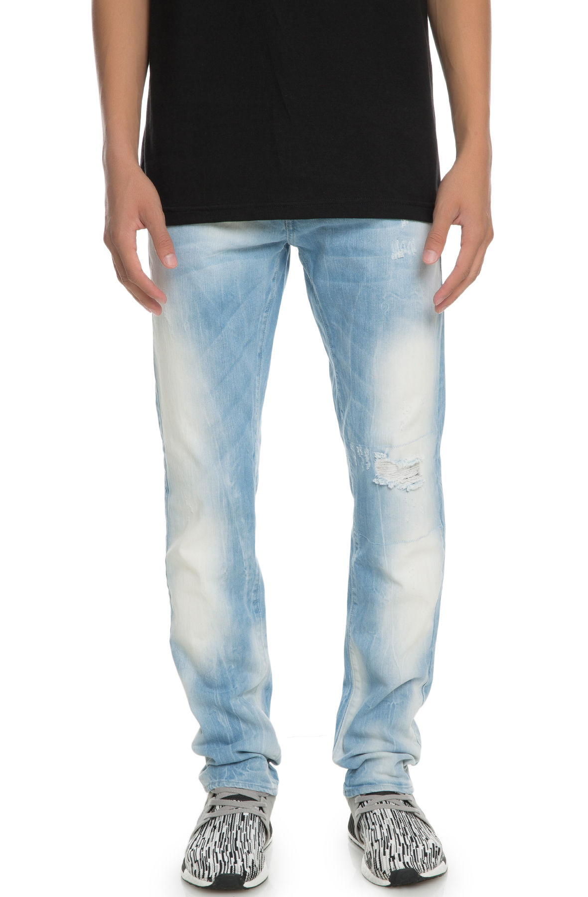 Image of The Blade Jeans in Arctic Stonewash