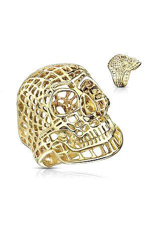 The Mesh Skull Ring