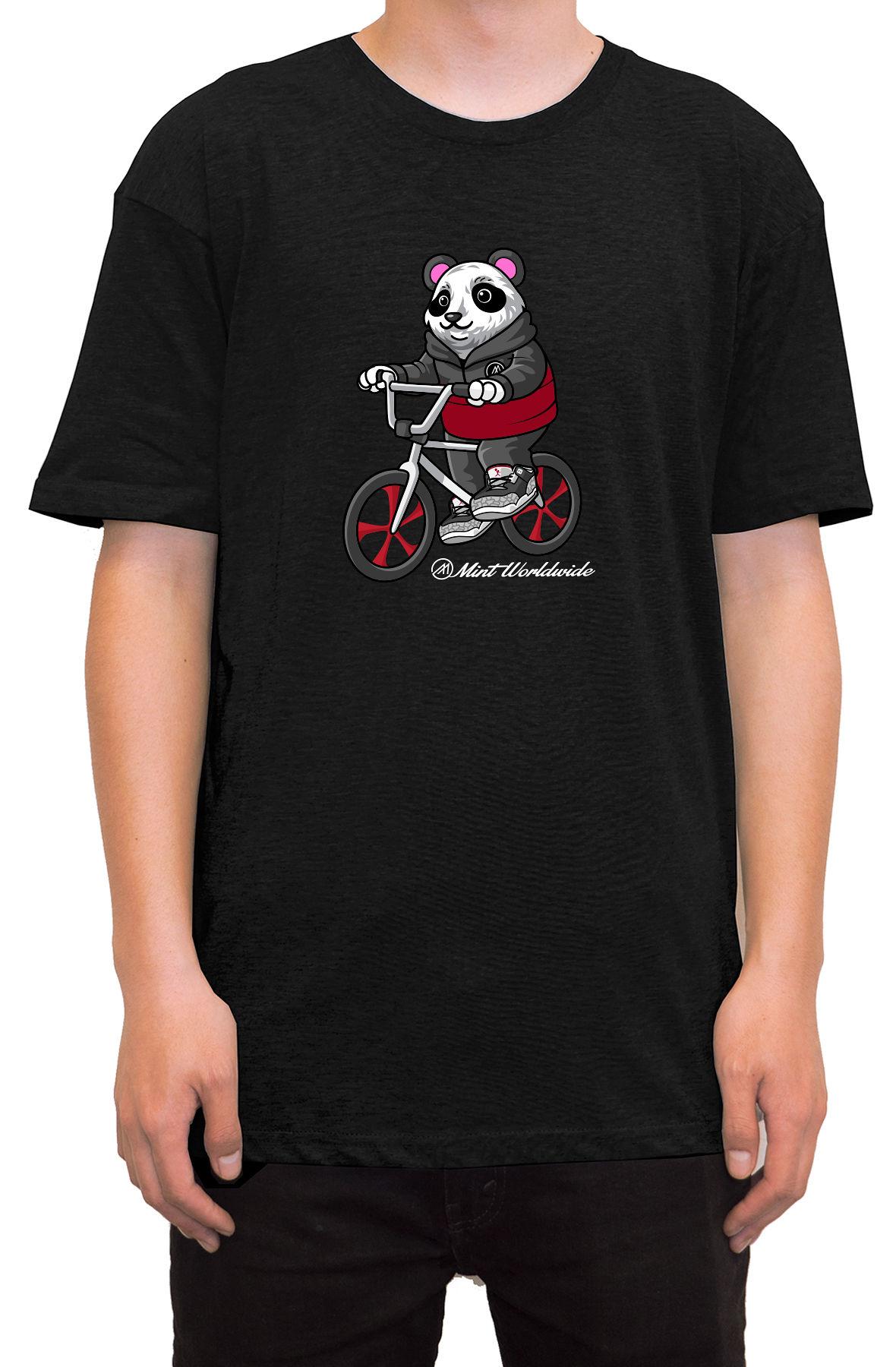 """BMX Bear T-shirt """" Black"""