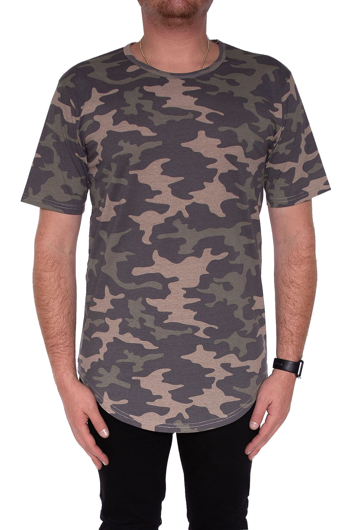 Image of CB Tall Tee in Camo
