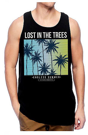 Image of MEN'S LOST IN THE TREES TANK