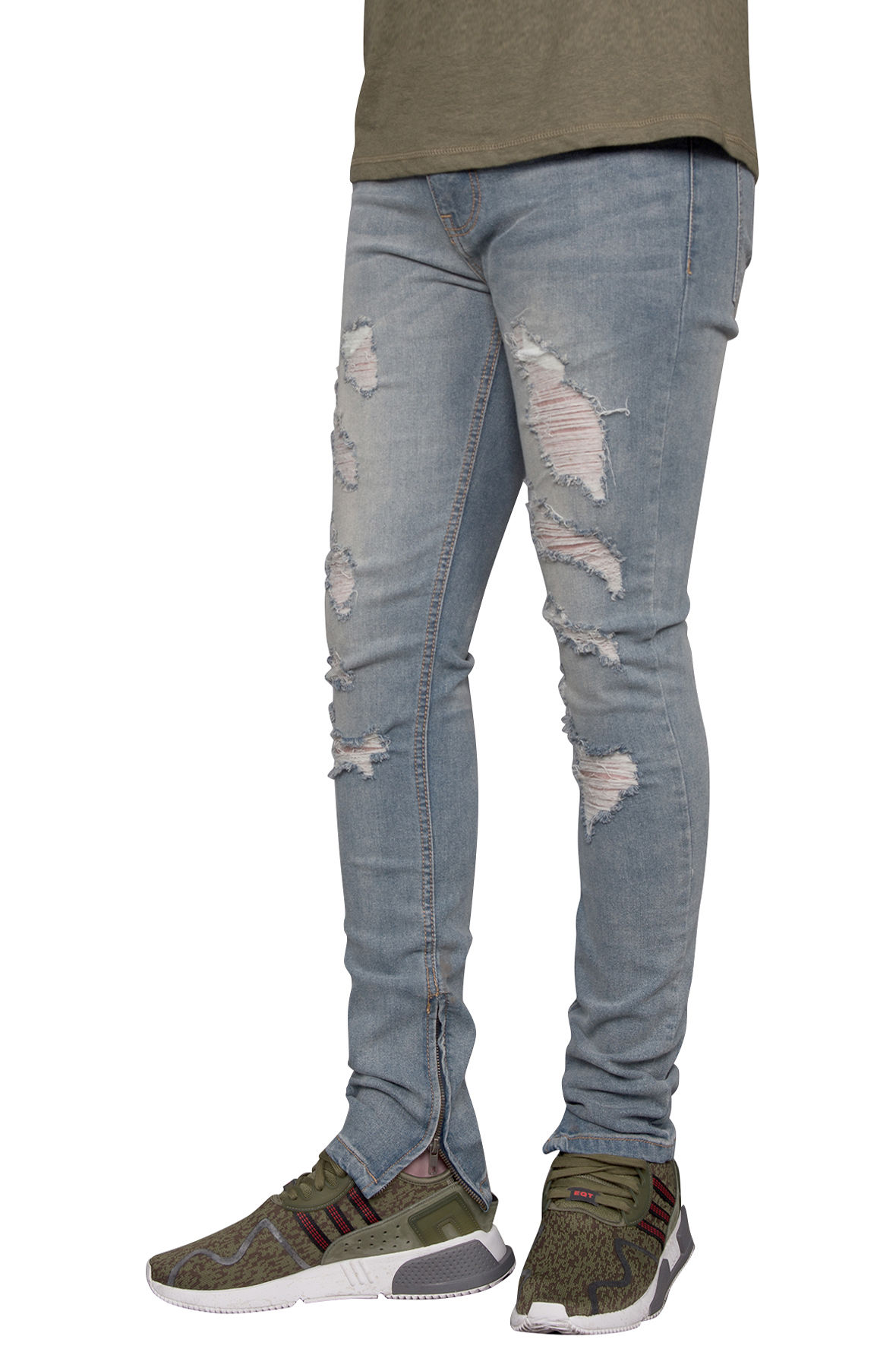 Image of Distressed Skinny Jeans