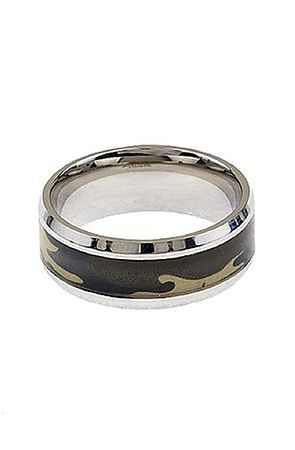 Image of The Camo Inlay Ring