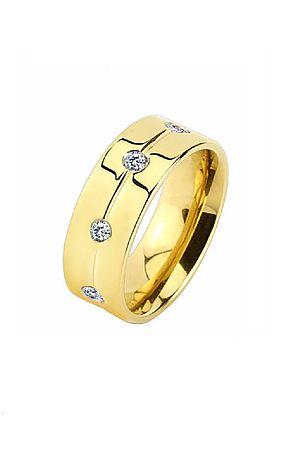Image of The Gold Titanium Ring