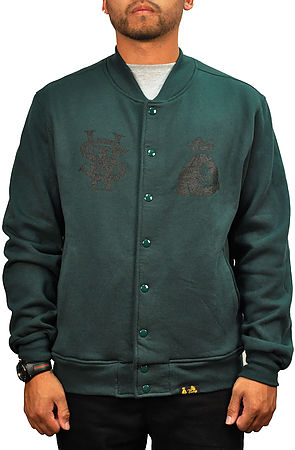 Image of The Stay Winning Jacket in Money Bag Green