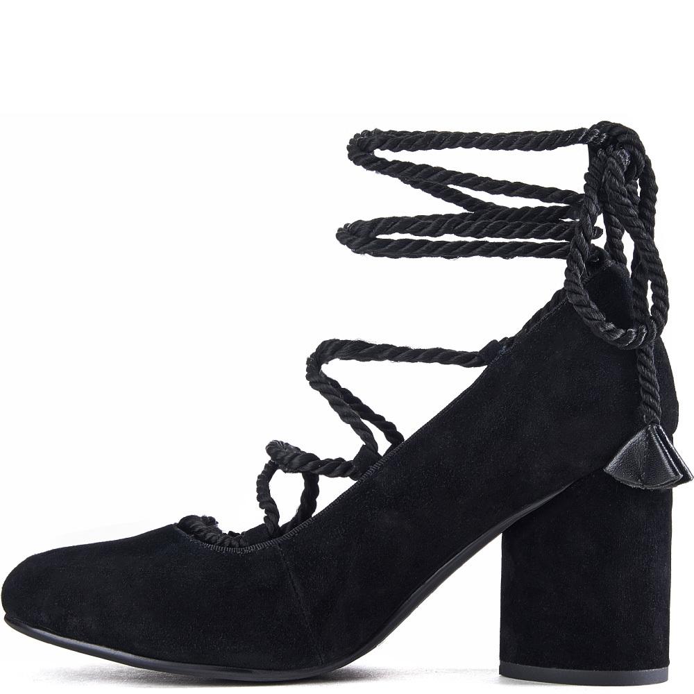Jeffrey Campbell For Women: Zaun Black Heels