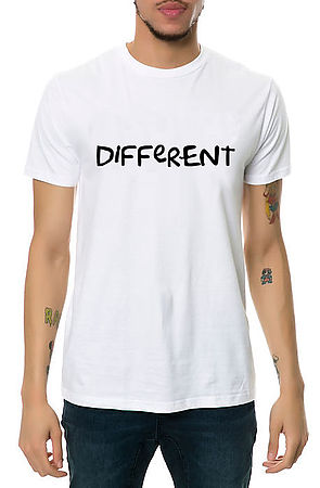 Image of Different Shirt in White