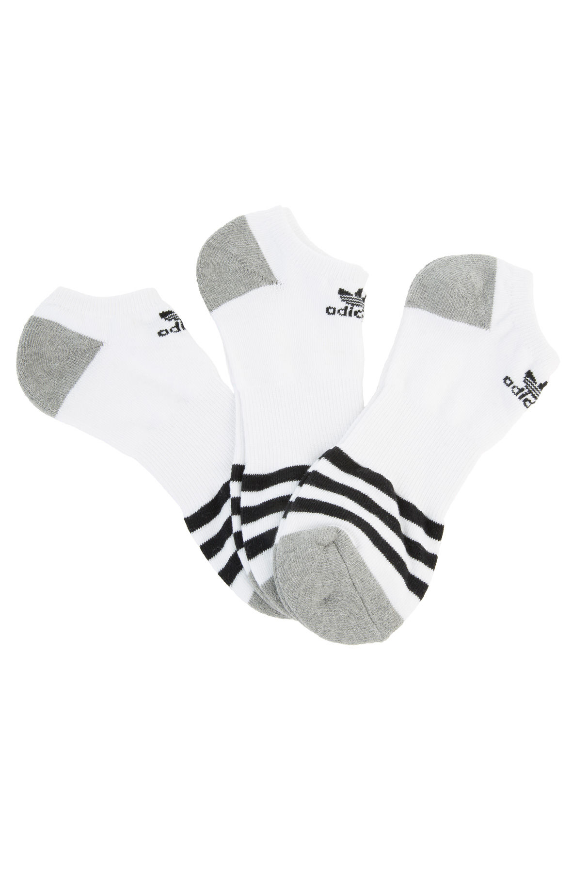 Image of The Men'S Orginals Roller 3-Pack No Show in White