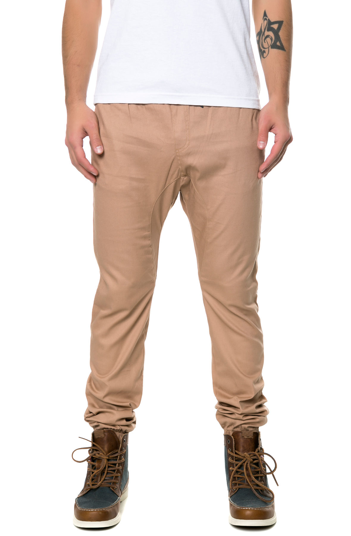 The Weekend Pant in Khaki