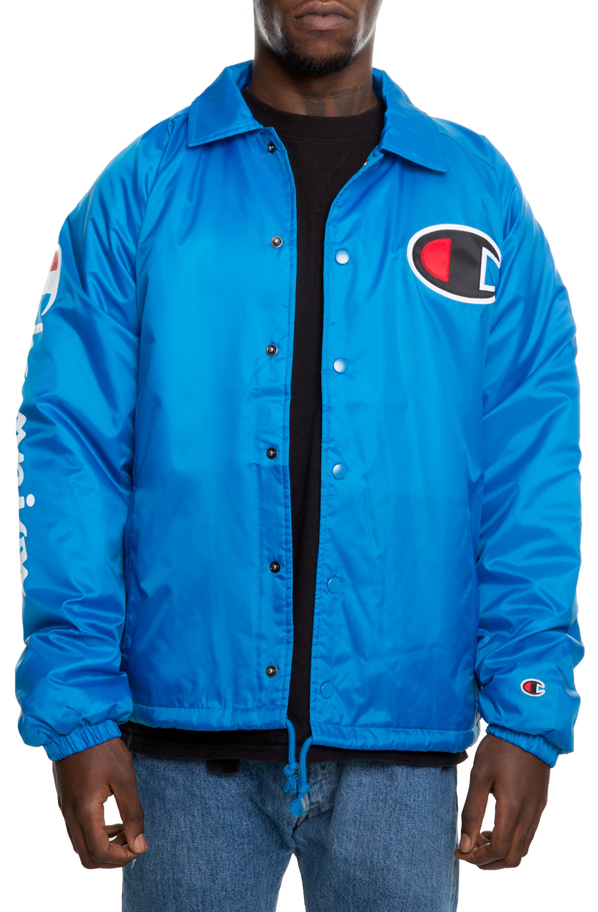 137ce62cf863 The Sherpa Lined Coaches Jacket in Deep Hotline Bling Blue