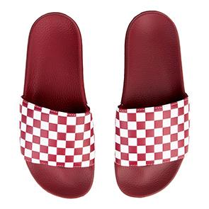 Image of The Men's Vans M Slide-On Checkerboard
